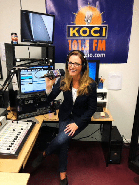 Female Chiropractor Irvine CA Desiree Edlund KOCI Radio