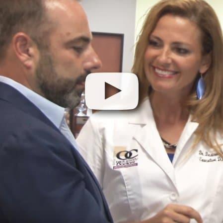Female Chiropractor Irvine CA Desiree Edlund Teaching Symptom Box